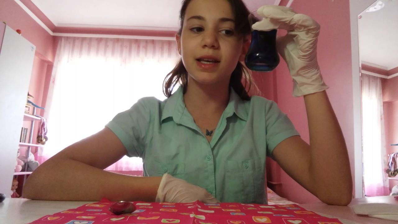 Grapon Kağıdı Ile Saç Boyama 2 Youtube