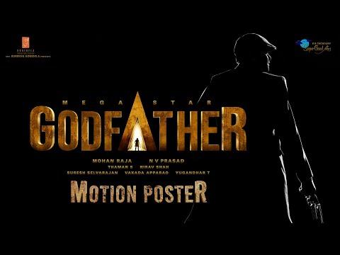 GodFather Motion Poster - Happy Birthday Mega Star Chiranjeevi | Mohan Raja | Thaman S