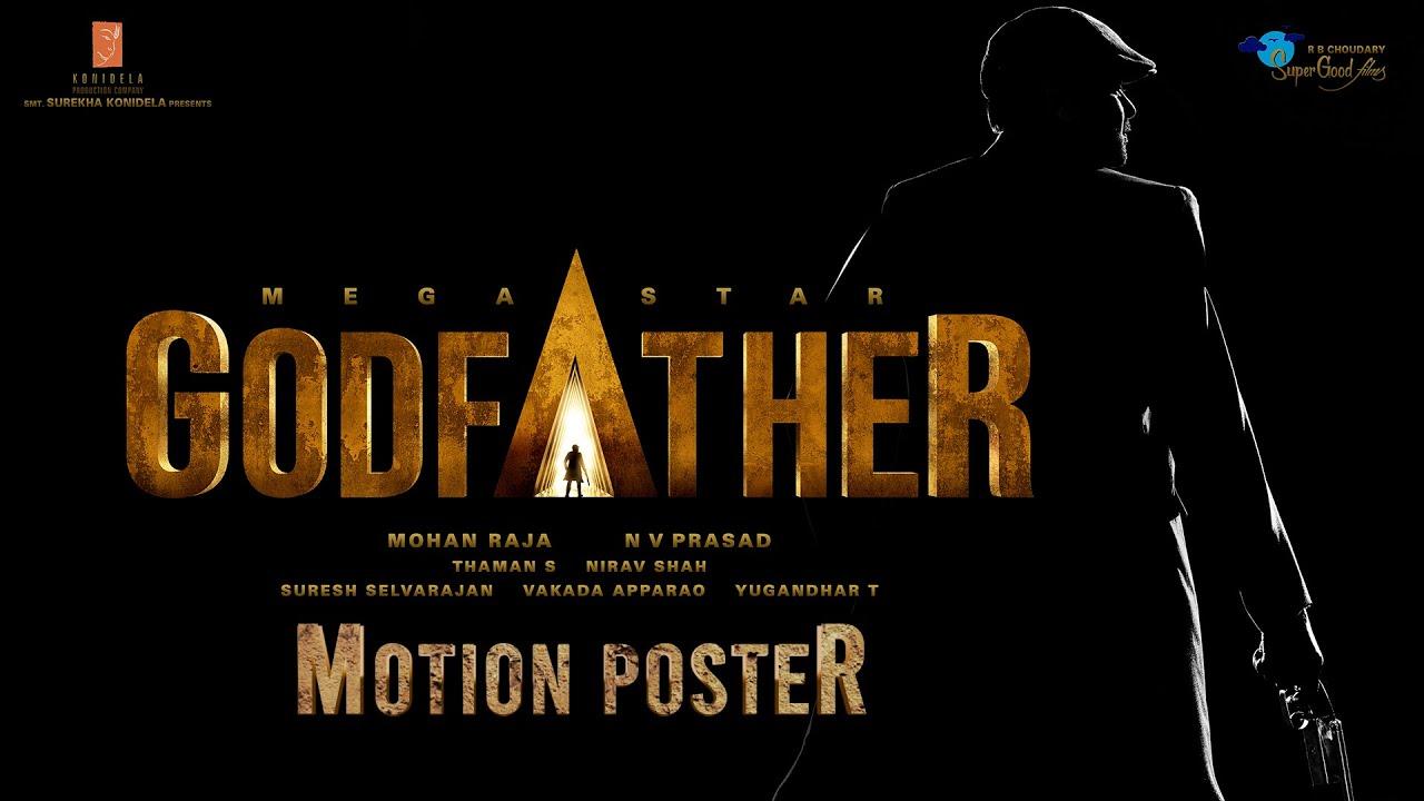 GodFather Motion Poster - Happy Birthday Mega Star Chiranjeevi   Mohan Raja    Thaman S - YouTube
