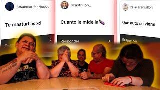 MI FAMILIA RESPONDE PREGUNTAS INTIMAS SOBRE MI *incomodo*    ALFREDO VALENZUELA