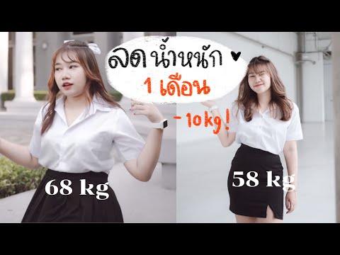 How to+review ลดน้ำหนัก 10 กิโลภายใน 1 เดือน!!🧸(ง่ายๆ ไม่อดอาหาร)   khawwi