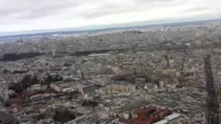 モンパルナスタワーからパリ一望