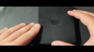 Unboxing WD elements Portable Hard drive and reformatting for Mac