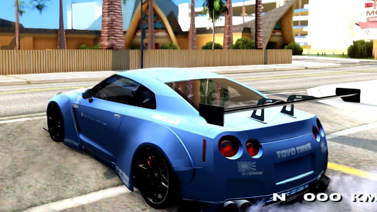 Nissan Gtr Liberty Walk Performance Gta San Andreas