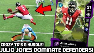 JULIO JONES IS UNGUARDABLE! BURNING DEFENDERS! Madden 20 Ultimate Team
