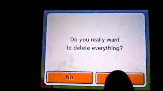 How to delete Tomodachi Life save data IN 2 WAYS!!!