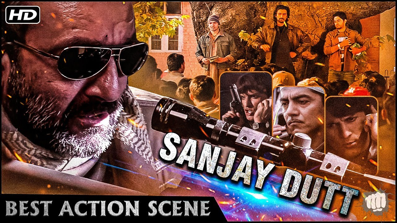 Best Jammy Kashmir People Action Scenes | Sanjay Dutt Indian intelligence agent Scene | Lamha Movie