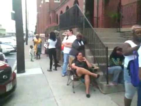 RAW VIDEO: Section 8 Housing Line