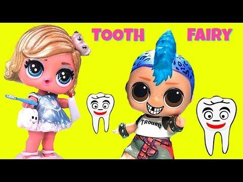 Baixar Custom LOL Surprise Doll Tooth Fairy Visit Punk Boi Sleepover Slumber Party
