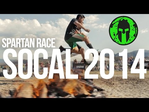 Spartan Race 2014  SoCal Beast & Sprint   Race Video