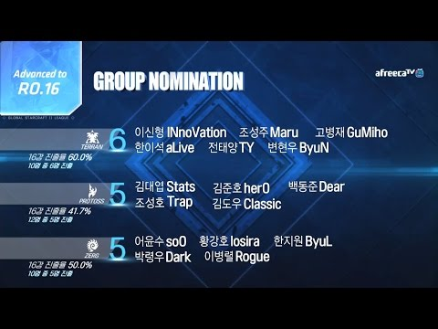[2017 GSL Season 2]Code S Ro.16 Group Nomination