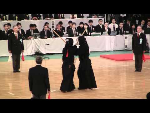 全日本剣道選手権 (決勝) 高鍋進 × 東永幸浩 2011-1103