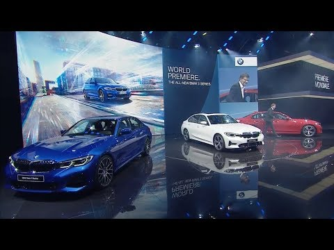 BMW 3 Series World Premiere at the Paris Motor Show
