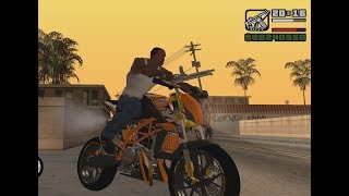 How To install Bike mod in san andreas