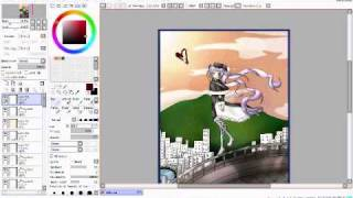 07-Ghost: Drawing and Coloring Roseamanelle Ouka Barsburg (Start to Finish)