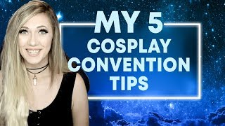 THE 5 BEST CONVENTION TIPS FOR NEW COSPLAYERS | Lindsay Elyse