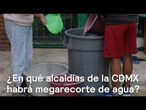 Corte de agua inicia hoy en 13 alcaldías CDMX - Despierta con Loret
