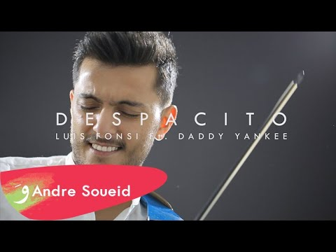 DESPACITO - Luis Fonsi ft. Daddy Yankee - Violin Cover by Andre Soueid thumbnail