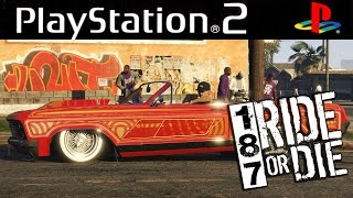 PCSX2 - 187 Ride or Die. HD Gameplay. Playstation 2 emulator for PC.