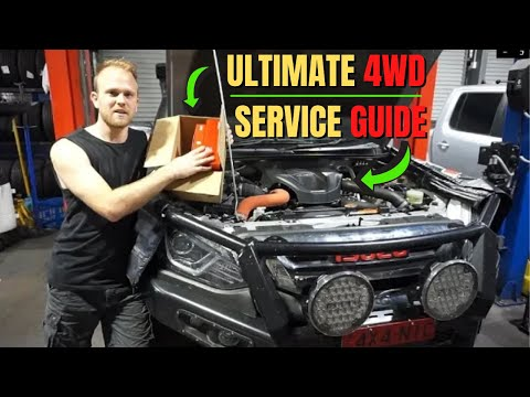 How To Maintain & Service Your 4X4 Vehicle – Isuzu MU-X Service & Maintenance