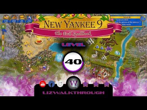 New Yankee 9 - Level 40 Walkthrough (The Evil Spellbook) |