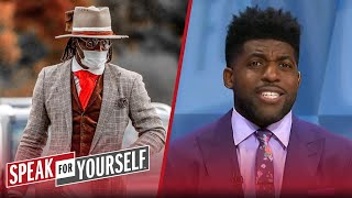 Emmanuel Acho reacts to Jeff Garcia's criticism of Cam's wardrobe | NFL | SPEAK FOR YOURSELF