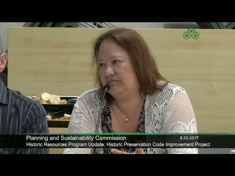 Planning and Sustainability Commission 8-22-2017