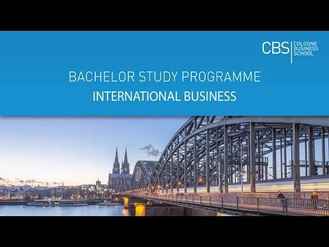 Bachelor in International Business | English-taught course | CBS Cologne Business School