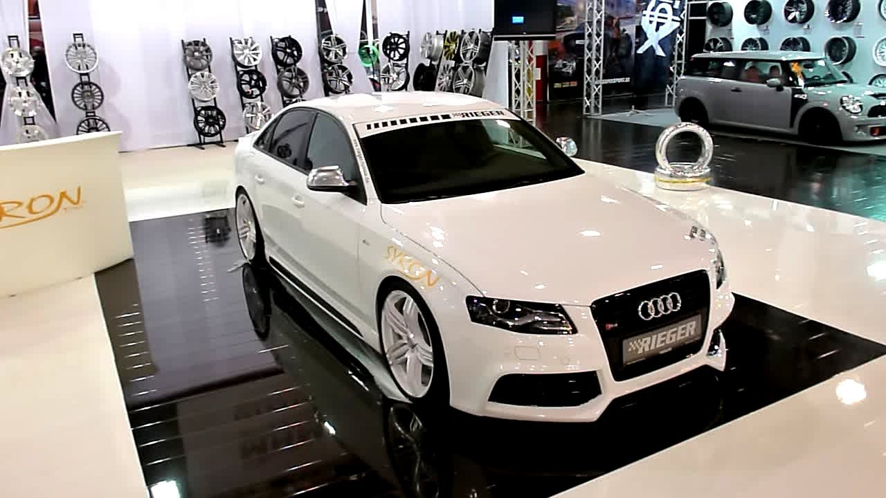 Audi S4 Rieger Tuning Essen Motorshow 2013 Youtube
