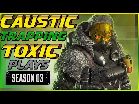 Caustic Trapping Players In Toilet Season 3 Glitch : Apex Legends Kev The King99