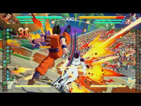 How to beat all tech options in DBFZ (1 setup covers all tech options)