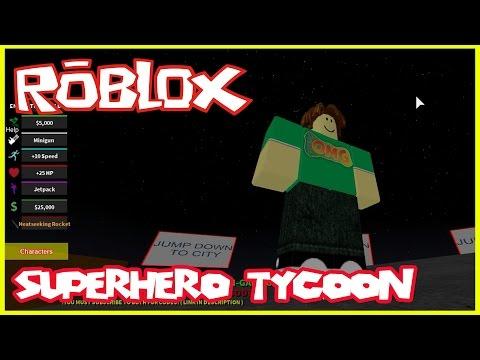 Roblox Superhero Tycoon   Let's Play