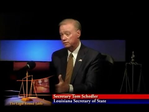 The Legal Roundtable: Voter Education (with Louisiana Secretary of State Tom Schedler)