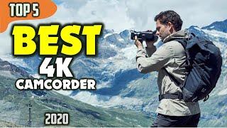 Best camcorder 4k (2020) — top 5