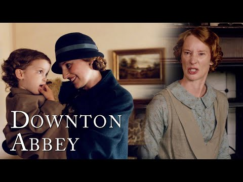 Edith Flees Downton With Marigold | Downton Abbey