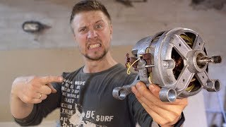 як з електродвигуна зробити верстат
