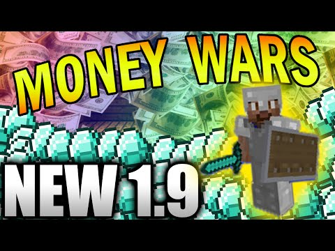 SHIELD TIME! - Minecraft 1.9 MONEY WARS #1 with Vikkstar