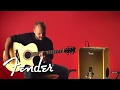 Capture de la vidéo Andy Mckee Demos The Acoustic Sfx Amp | Fender