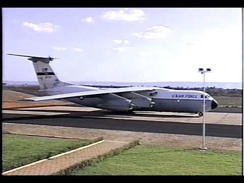 Lockheed C141 no Aeroporto de Juazeiro do Norte | 1997