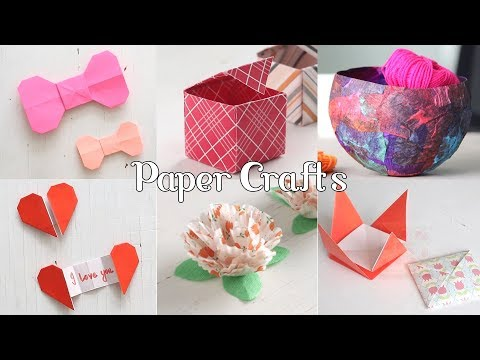 Easy Paper Crafts  Handmade Crafts  Ventuno Art