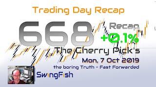 Forex Trading Day 668 Recap [+0.1%]