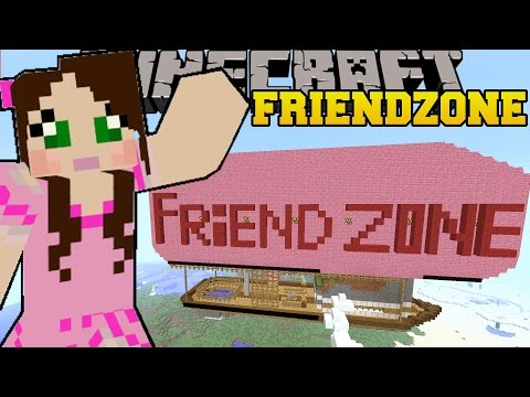 Minecraft: THE FRIENDZONE! - VALENTINES DAY - Custom Map [3]