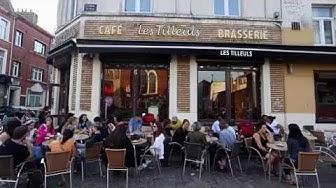 Le café des tilleuls - Daniel Barrois