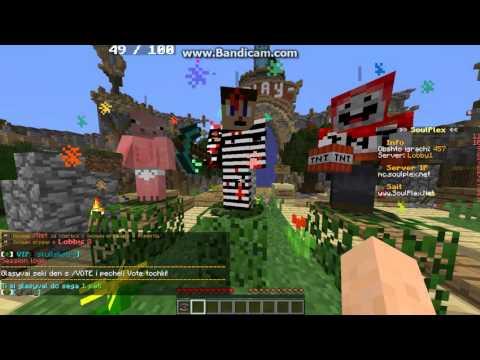 Minecraft - Ревю на сървара Soulplex.net