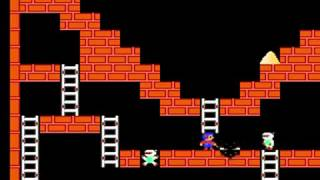 Lode Runner - Lode Runner for NES - super speed run. no time to lose - User video