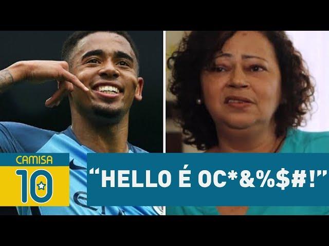"""""""Hello é o C*&%$#!"""" GABRIEL JESUS leva bronca da MÃE!"""