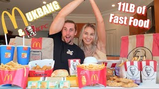 MEGA Meal Deal MUKBANG Challenge | Girlfriend Tag 30,000 Follower Special