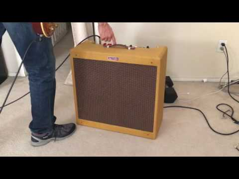 5F6A (Fender Bassman) DIY Amp Build Test