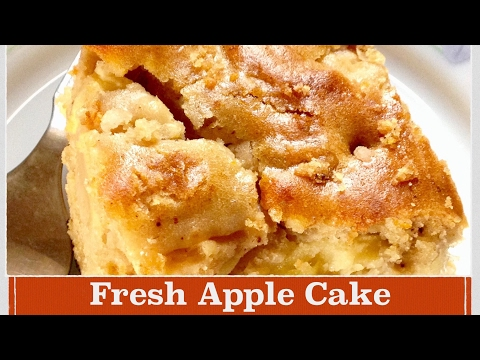Easy Apple Cake Recipe   How to make classic, Moist Fresh Apple Cake at home