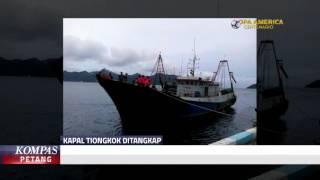 Kapal Pencuri Berbendera Tiongkok Ditangkap